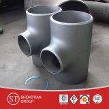 Reductores de la te del codo de la instalación de tuberías del carbón