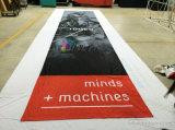 Печатание цифров качества Hight на знамени напечатанном тканью белом изготовленный на заказ
