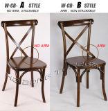 خشبيّة مأدبة كرسي تثبيت عرس صليب ظهر كرسي تثبيت