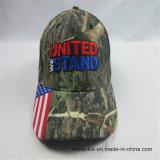 o baixo preço 100%Cotton qualificou um golfe Cap&Hat de 6 painéis
