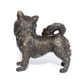Beeldhouwwerk tpy-736 van het Brons van het Standbeeld van het Messing van het Voer van Deco van het Huis van de Hond van het huisdier
