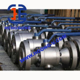 API/DINの高圧造られた鋼鉄A105フランジの球弁