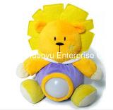 Brinquedo enchido fonte do tigre de Lignt da noite do bebê da fábrica