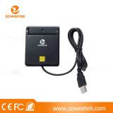 Читатель/сочинитель смарт-карты USB Zoweetek-Ccid для карточки ATM удостоверения личности (ZW-12026-1)