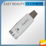Levantamento de face cosmético limpo profundo da máquina do uso da HOME da importação do purificador ultra-sônico da pele