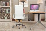 방어적인 소매를 가진 현대 최고 후에 늑골을 붙인 덮개를 씌운 PU 가죽 회전대 사무실 의자