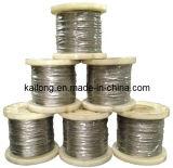 веревочка провода нержавеющей стали 7x7 1.5mm (SS316 & SS304)