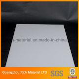 Plaque légère en plastique de diffuseur de taille rectangulaire/feuille en plastique de diffuseur pour l'éclairage