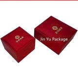 Caja de embalaje determinada de la joyería plástica del regalo Jy-Jb211 con insignia de encargo