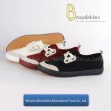 Повелительницы комфорта вскользь обувь с новаторской верхушкой ткани