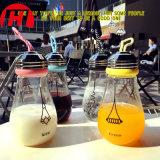 bottiglia di acqua di vetro a forma di della lampada vivace 300ml