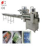 Multi-Fileiras na máquina de empacotamento da borda para bolinhos