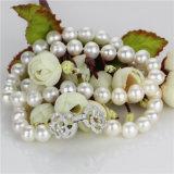 Venta al por mayor de agua dulce del collar de la perla de Snh 925silver 18inches
