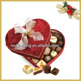 OEM広州でなされるハンドルおよび明確なWindowsが付いている普及したチョコレート荷箱の/Chocolate/Cakeの荷箱