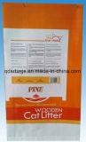 Sacchetto tessuto pp di plastica stampato variopinto/sacco della lettiera di imballaggio