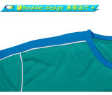 Custom 100% polyester bon marché Dri Fit gros Blank T-shirt