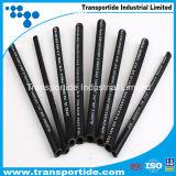 Factory SAE100 R1 / 1sn R2 / 2sn Flexible industriel / Tuyaux en caoutchouc hydraulique haute pression