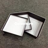 Boîte-cadeau stupéfiante d'étalage d'emballage de papier de bijou de Transmutative