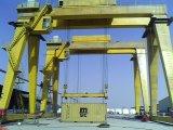 Кран на козлах двойного луча электрический длинний перемещая для контейнера (MG)