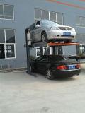 2 подгонянный столбами лифт автомобиля