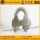 DIN1142亜鉛によってめっきされる調節可能なワイヤーロープクランプ鋼鉄ケーブルクリップ