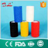 Fasciatura coesiva dell'elastico della fasciatura della fasciatura adesiva dei campioni liberi