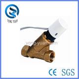 Клапан электрического двухстороннего динамического уравновешивания латунный для HVAC (BSPF-25)