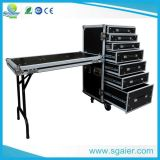 Table, Carrying Wheels를 가진 비행 Case Drawer