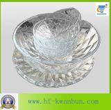 Hochwertiges gepresstes Glasfilterglocke-Frucht-Süßigkeit-Filterglocke-Tafelgeschirr