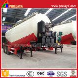 Semi Aanhangwagen van de Tanker van het Poeder van de TriAssen van Phillaya 30-68m3 de Facultatieve Goedkope