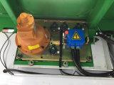 Elevador dobro da construção de edifício das cabines para materiais com controle fácil
