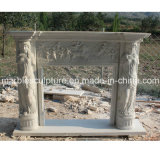 중국 자연적인 대리석 벽난로 (SY-MF041)