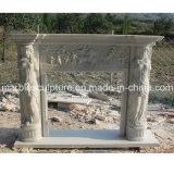 Chaminé de mármore natural de China (SY-MF041)
