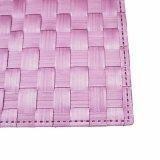 Geschäumtes Matt-Polyester gesponnenes Placemat für Tischplatte u. Bodenbelag