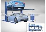 Deux pièces d'auto hydrauliques de véhicule de véhicule de fléau de poste stationnant le levage