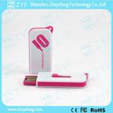 Mini USB deslizante plástico Pendrive (ZYF1272)