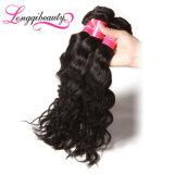 Das meiste heißeste natürliche Remy wellenförmige brasilianische Jungfrau-Haar