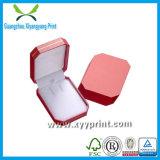 Alta venta al por mayor de encargo del rectángulo de joyería del papel de la impresión de la cantidad