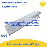 Luz accionada solar de la bahía del 100% LED alta
