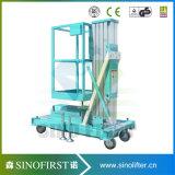 6m elektrischer Aluminiumlegierung-Luftarbeit-Plattform-Aufzug