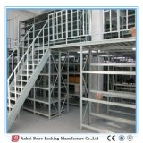 Armazém de aço pré-fabricado, mezanino pesado e plataforma do armazém da prateleira do carregamento