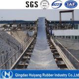 Gewebe-Karkasse-Polyesterep-flaches industrielles Gummiförderband