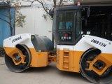 충분히 Junma 유압 두 배 드럼 진동하는 도로 롤러 (JM813H)