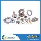 De sterke Magneet van het Neodymium van de Zeldzame aarde van Magneten Mini Zilveren