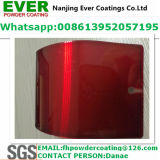 Décoratif Transparent Clear Red Color Topcoat Electrostatic Spray Powder Coating