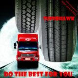 Pneu comercial 11r22.5 295/75r22.5 11r24.5 315/80r22.5 do caminhão do preço de grosso de Superhawk