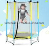 Trampoline da mola para miúdos e adultos