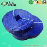 Boyau plat d'irrigation de ferme de boyau de débit de l'eau de PVC Layflat