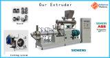 Máquina de linha de acabamento de processamento de extrusoras de alimentos para cães de estimação