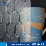 Glass/Patterned calcolati Glass/Rolled Glass/Embossed Glass/Knurling Glass (Nashiji, Mistlite, Flora, Karatachi, Diamond) con CE, iso